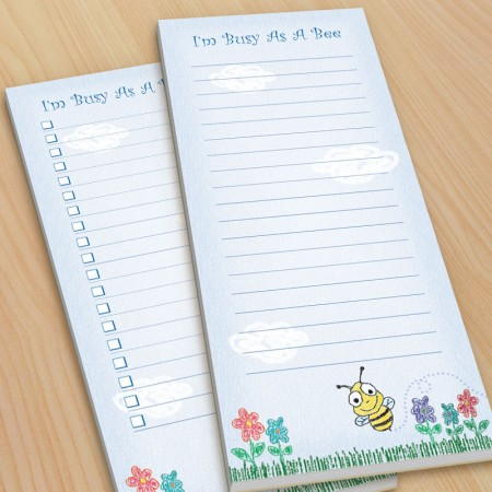 Crayon Bee To-Do Pads