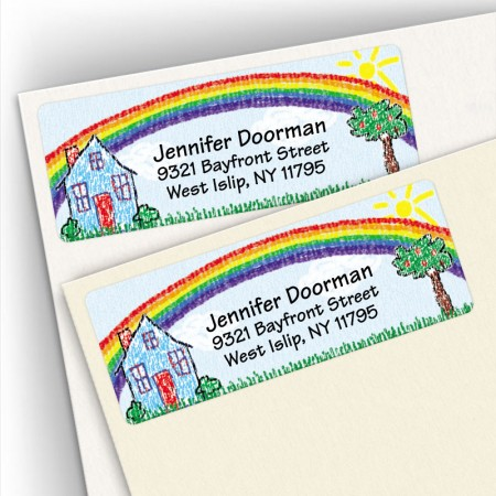 Crayon House Address Labels