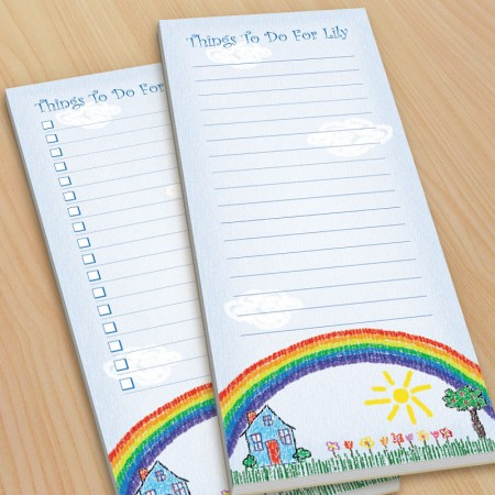 Crayon Rainbow To-Do Pads