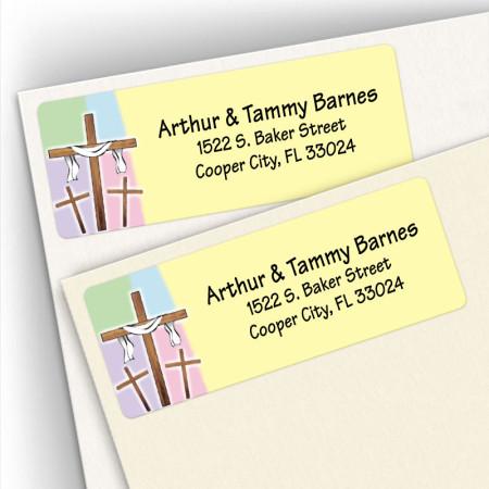 Crosses Address Labels