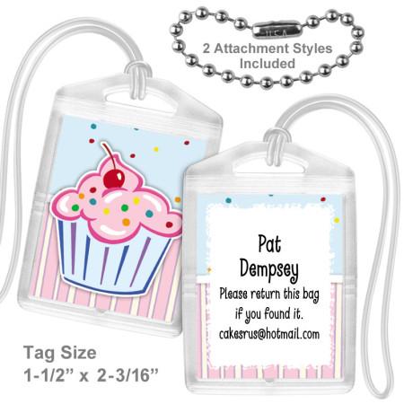 Cupcake Mini Tag