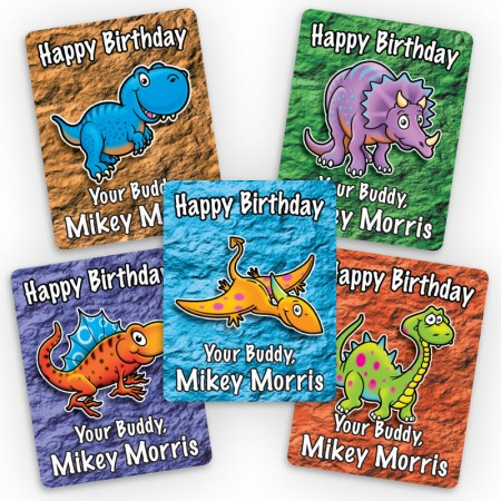 Dinosaurs Mini Gift Labels
