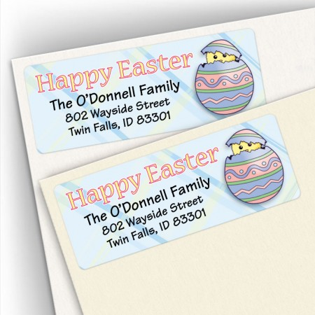 Easter Egg Address Labels