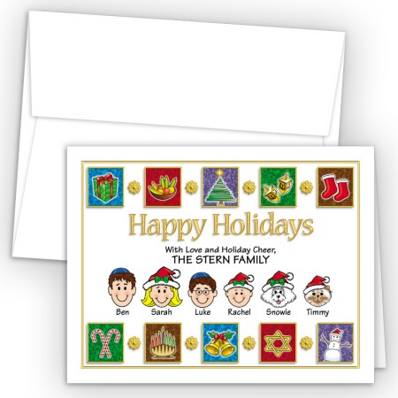 Elements Happy Holiday Fold Note