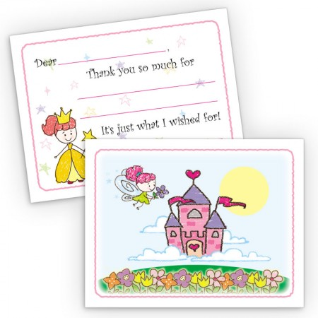 Fairy Tale Fill-In Thank You Cards