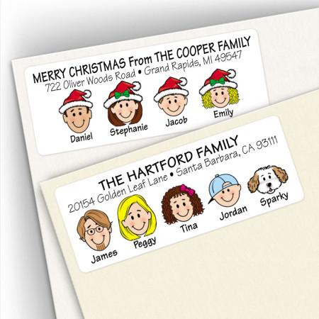 Family Address Labels