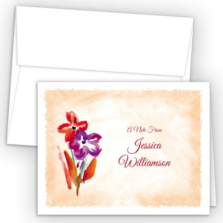 Flowers Note Card