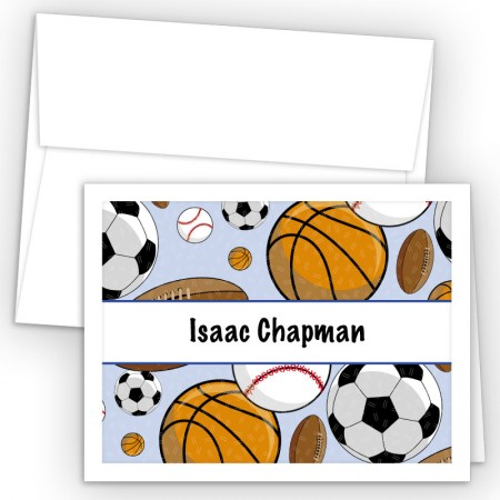Sports Note Card