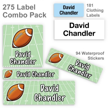 Football Label Combo Pack