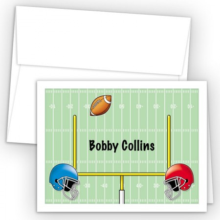 Football Note Card