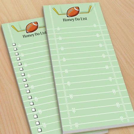Football To-Do Pads