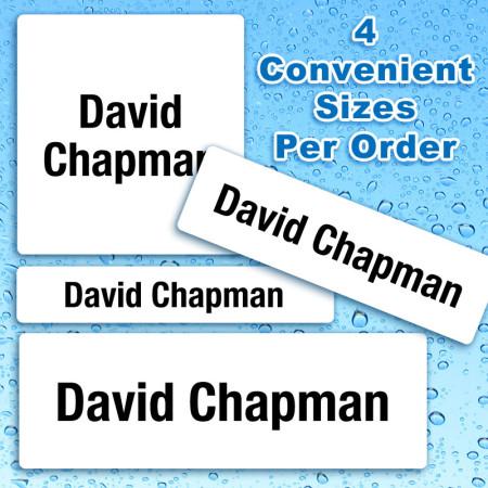 Generic Waterproof Name Labels For Kids