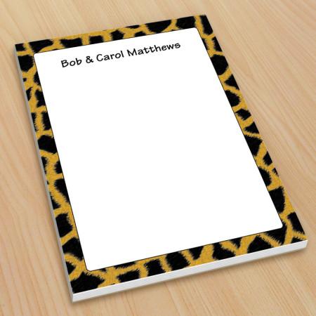 Giraffe Pattern Small Note Pads