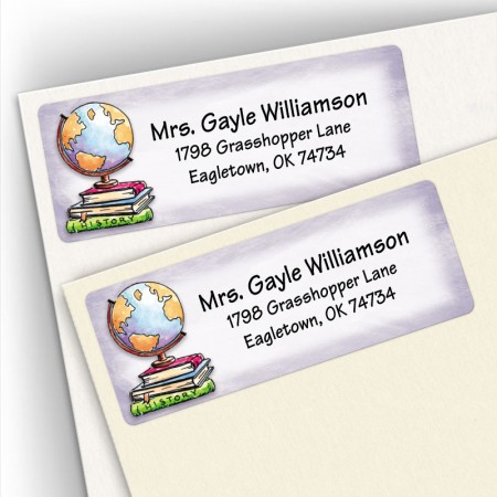Globe Address Labels