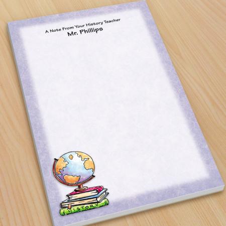 Globe Teacher Large Note Pads