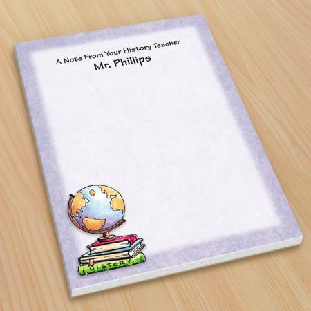 Globe Teacher Small Note Pads