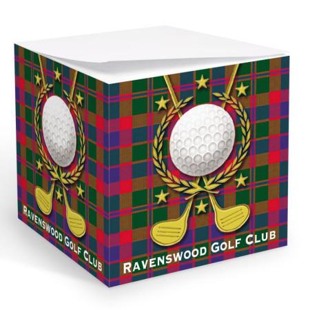 Golf 2 Memo Cube