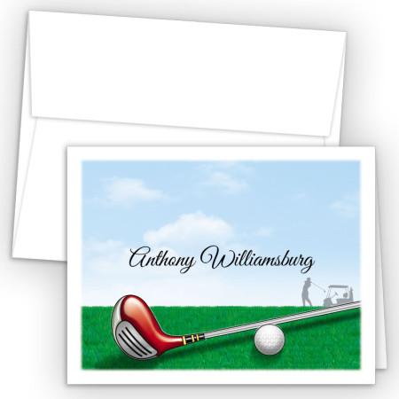 Golf Note Card
