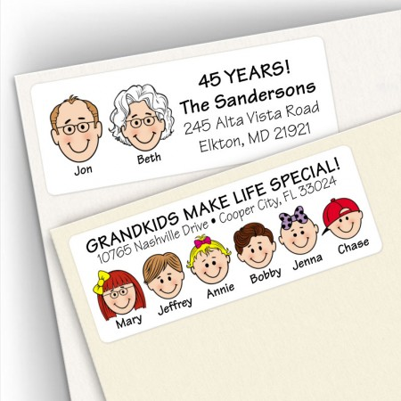 Grandparents Address Labels