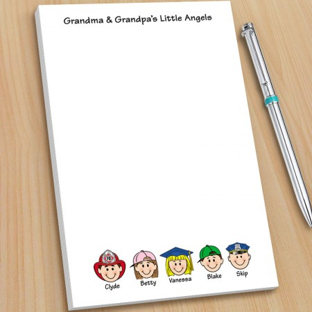 Grandparents Note Pads - Large