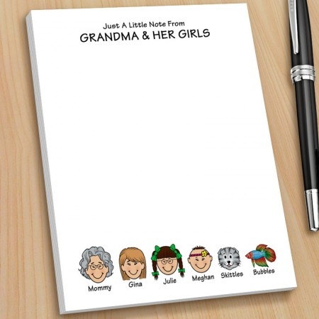 Grandparents Note Pads - Small