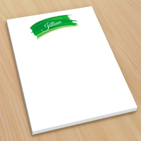 Green Watercolor Small Note Pads