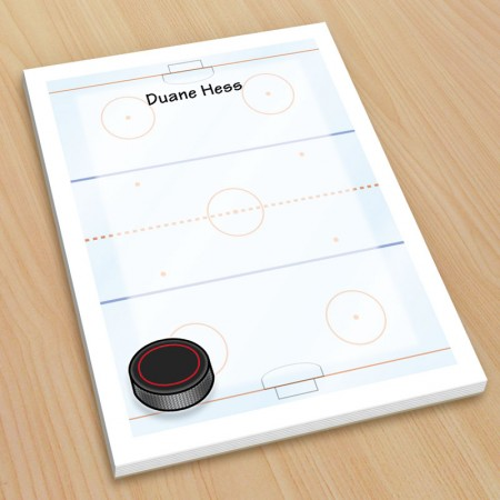 Sports Hockey Small Note Pads