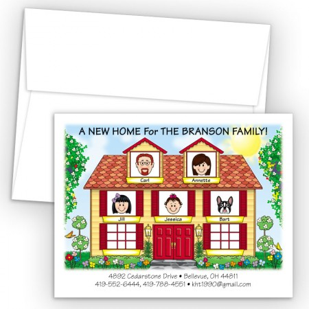 House Moving Cards & Announcements