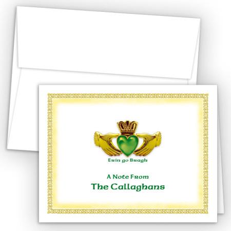 Irish Claddagh Note Card