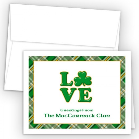 Irish Love Note Card