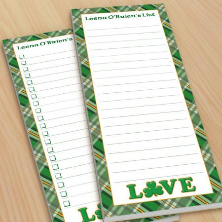 Irish Love To-Do Pads