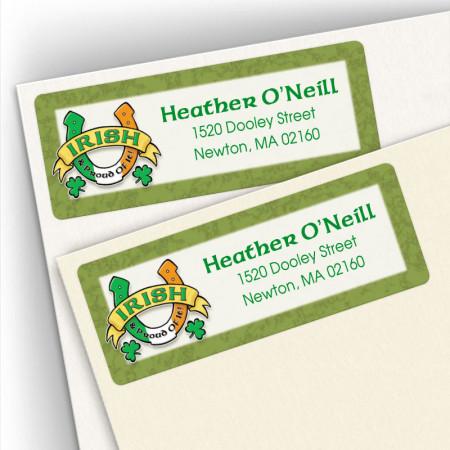Irish Luck Address Labels