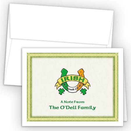 Irish Luck Note Card