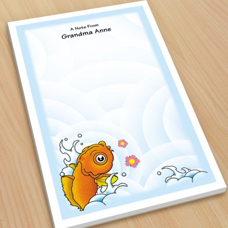 Koi Large Note Pads