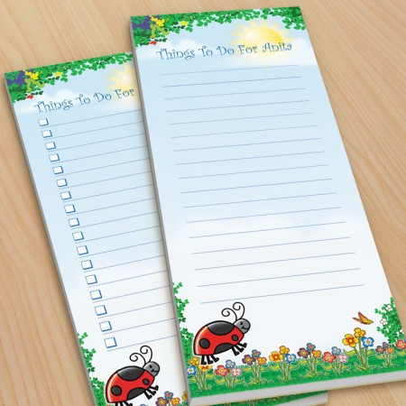 Lady Bug To-Do Pads