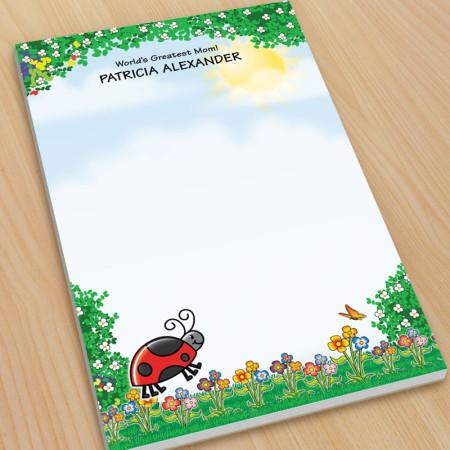 Ladybug Large Note Pads