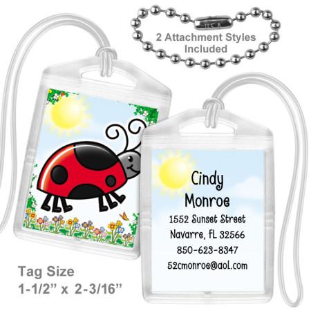 Ladybug Mini Tag