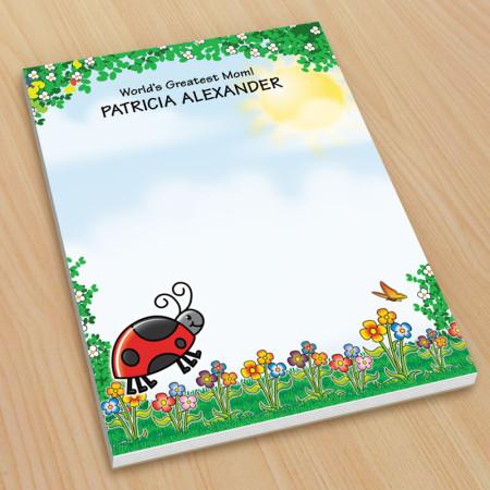 Ladybug Small Note Pads