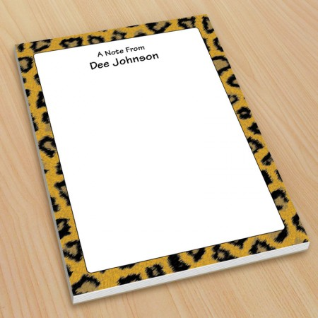 Leopard Pattern Small Note Pads