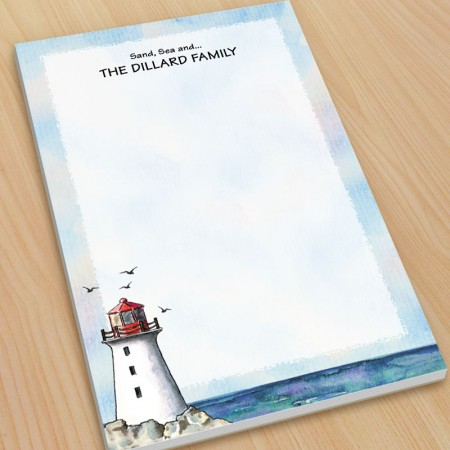 Lighthouse Large Note Pads