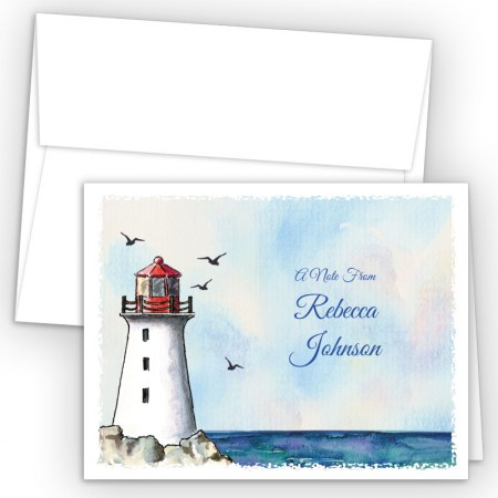 Lighthouse Note Card