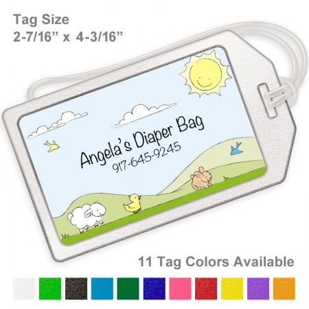 Little Animals Luggage Tag