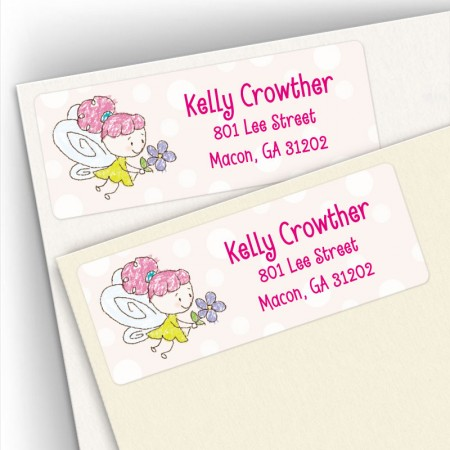 Little Fairy Address Labels