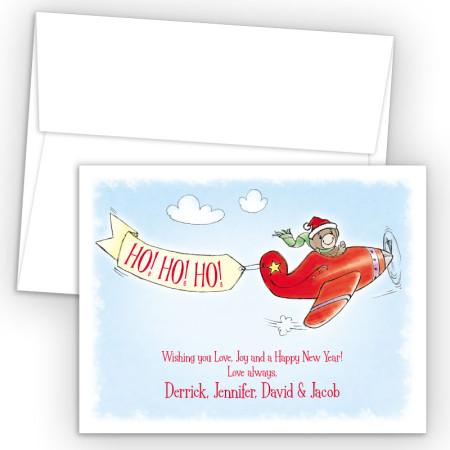 Monkey Pilot Holiday Cards