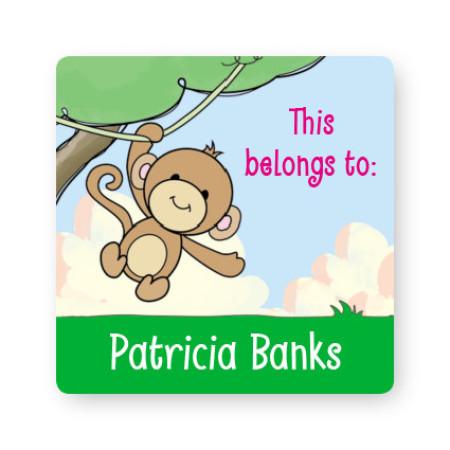 Monkey Property ID Labels