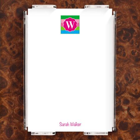 Monogram 15 Note Sheet Set
