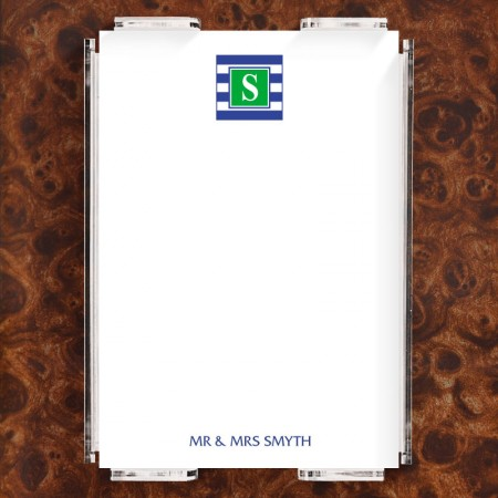 Monogram 16 Note Sheet Set