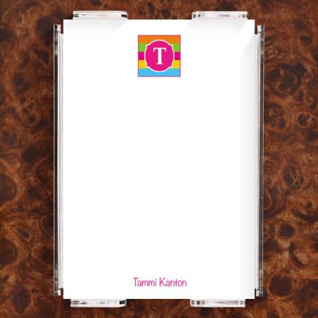 Monogram 17 Note Sheet Set