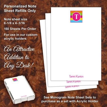 Monogram 17 Note Sheet Refill
