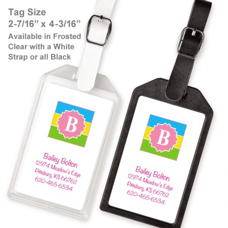Monogram Luggage Tag 1